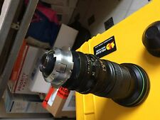 Canon 7-56mm 16 mm zoom film lens Arri Arriflex PL Red Blackmagic Camera