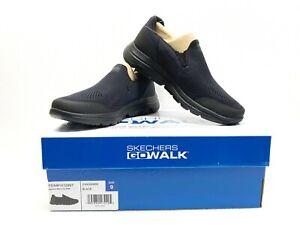 Skechers Men's Go Walk 216039 Ultra GO Cushioning Black Slip On Shoes - NWB