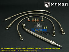 Turbo Oil & Water Line Kit for Saab 9-3 AERO B207R TD04 TD04L 12T 14T Turbo