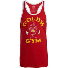 Gold's Gym Classic Joe Stringer Tank Top - Red