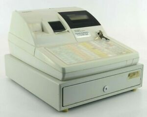 Sam4s ER-5200M Cash Register W/ Keys - For Parts - Please Read