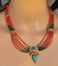 Multi Strand Tibetan Nepalese Necklace New listing