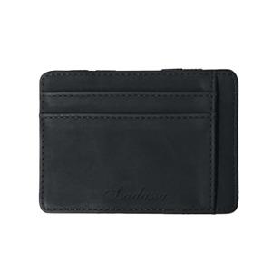 Men's Luxury Faux Leather Thin Mini Wallet Credit Card ID Holder Purse Wallet