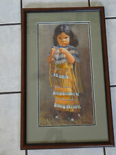 """Ray Swanson """"Little Apache"""" famous painting crafted by Prena Van Den Brink"""
