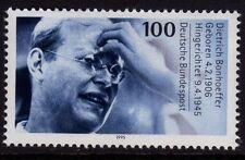 Germany 1995 Death of Dietrich Bonhoeffer, Theologian SG 2628 MNH