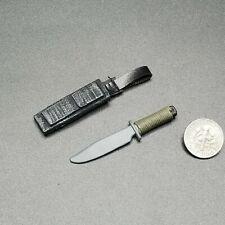 "1:6 Ultimate Soldier Commando SOG MK3 Knife 12"" GI Joe BBI Dragon SEAL Vietnam"