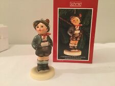 "Vintage 1985 Schmid & Berta Hummel Ornament or Figurine ""Alpine Boy"" Nib"