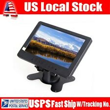 "S702 7"" TFT LCD PC DVD TV Monitor Display 1024*600 VGA AV YUV,Audio,Video For PC"
