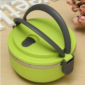 Hot Food Flask Stainless Steel Lunch Box Thermos Vacuum Insulated Travel YW