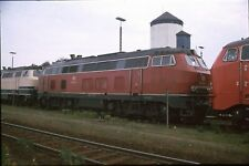 Diaduplikat DB 218 345 Mühldorf 17.6.1989