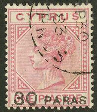 Cyprus  1882  Scott # 17  USED
