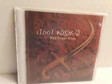 Mad Sheer Khan – :1001 Nights (CD, 1999, Detour) No Case