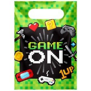 Game On party bags - Pack of 12