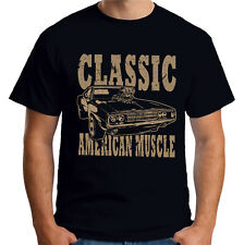 Velocitee Mens T Shirt Classic American Muscle Car Dodge Plymouth V299