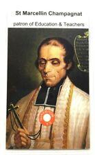 Santos Marcellin José Champagnat Relic Carta, Patron de Educación y Maestros
