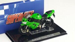 KAWASAKI Ninja ZX-10R Green/Black - 1/24 - ATLAS