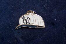 2002 pinstripe cap NY logo New York Yankees lapel pin MLB c28705