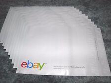 """New eBay Branded Polyjacket Envelopes 10"""" x 12.5"""" - Quantity of 10 per order !!!"""