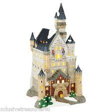 Department 56 Alpine Village Neuschwanstein Castle King Ludwig Fairytale Castle