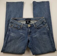 Immortality Jeans by Diana Tabeshi Womens Sz 27 Boot Cut Light Wash Denim