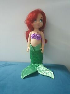 "Disney Store Princess Ariel Little Mermaid 16"" animator doll animator collection"