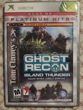 Xbox Ghost Recon Island Thunder (Manual, box and game)