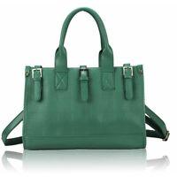 Ladies Leather Style Crossbody Celebrity Shoulder Satchel Bag Women Tote Handbag