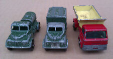 LESNEY MATCHBOX-Grit diffondendo camion, RADIO TRUCK & Water TRUCK