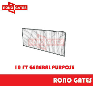 10ft General Purpose Farm Gate Horse Cattle Sheep Yard Panels