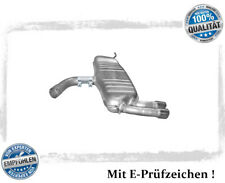 Endschalldämpfer VW Golf V 5 2.0 GTI 147/169KW Auspuff Endtopf Chrom