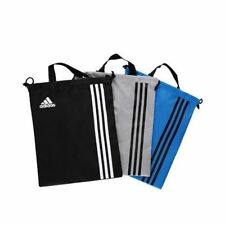 Adidas Gray Golf Stripe Shoes Case Football Soccer Sports Gym Bag Authentic A_r