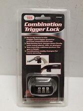 Combination Trigger Lock Gun Firearm Pistol Rifle Shotgun Safe Child Proof Theft