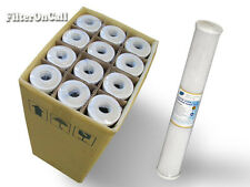 """Carbon Block Water Filters 20"""" x 2.5"""" Whole House  RO DI 12 pcs Value Pack"""