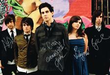 Gabe Saporta Cobra Starship SIGNED 12x18 Photo by 4 COA