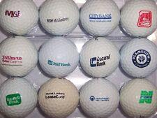 (12) Mixed Logo Golf Balls ( Bank Related - Norwest, M&I Etc.) B#209