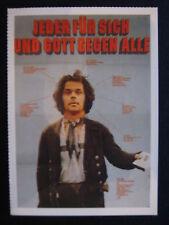 Filmplakatkarte cinema  Jeder für sich und Gott gegen alle
