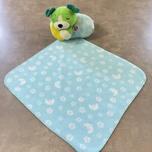 LeapFrog Twinkle Little Scout Green Puppy Dog Light Up Music Baby Lovey Blanket