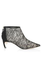 Nicholas Kirkwood Mira Pearl Booties Size 37.5