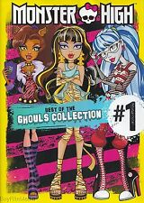 Monster High: Best of Ghouls Collection #1 (DVD 32 Episodes)