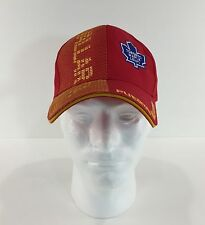 Toronto Maple Leafs Hat Puerto Vallarta NHL Embroidered Red Yellow