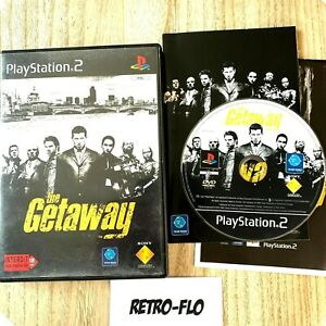 The Getaway + Map - Jeu Sony Playstation 2 PS2 Complet Comme NEUF - PAL