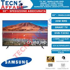 "Smart TV LED 50"" Pollici Ultra UHD 4K Internet TV Samsung Europa UE50TU7172UXXH"