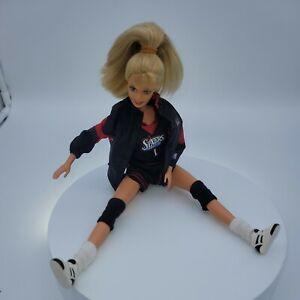 1998 Mattel NBA Barbie Philadelphia 76ers with box