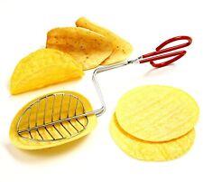 Taco Maker Press Fried Taco Shells Mold Crisp Deep Fryer Kitchen Tools Gadgets .