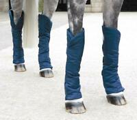 Shires Travel Sure Economy Travelling Horse Boots in Navy