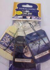 Yankee Candle 3 For 2 Bonus Pack Car Jar Car Air Freshener Evening Stroll
