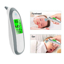 Digital Baby Adult Professional Infrared Forehead Ear Thermometer Memory Recall.