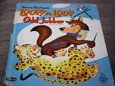 Vtg Childrens Book Loopy De Loop Odd Jobber 1964 Hanna Barbera's  1960s --CCX