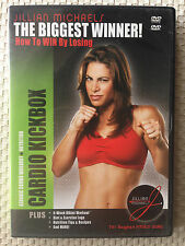JILLIAN MICHAELS ~ CARDIO KICKBOX ~ DVD MOVIE AND DVD ROM