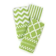 NEW MacKenzie Childs Key Lime Dish Towels - Set of 3